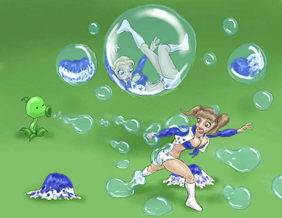 Plants vs Cheerleaders by Spartly