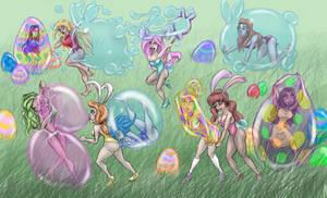 Easter egg hunted