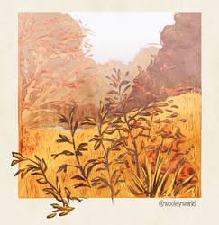 a lil autumn scene