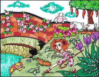 the monster under the bridge by vilima