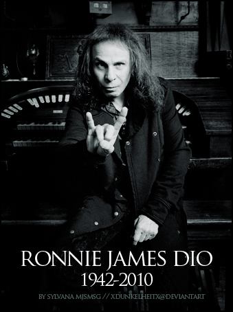 Rock legend Ronnie James Dio