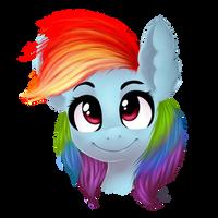 Rainbow Dash by GumlBall