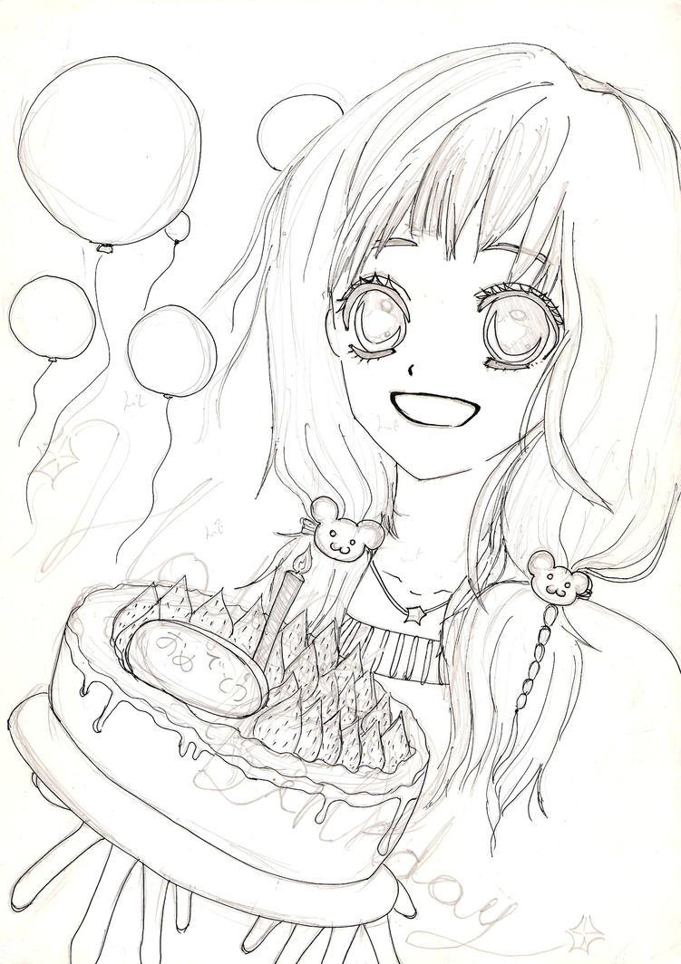 Happy Birthday Cake By Namine Rhyme