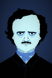 Poe Boy (Edgar Allan) - Fanart Portrait #inktober