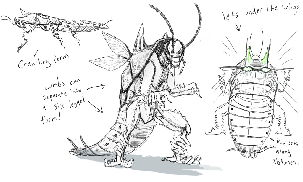 Roach Commish 2 by S1iTH3RUS