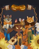 Lackadaisy Halloween contest by Adkomsky