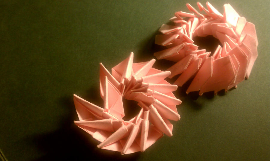 3D Origami test by meathive