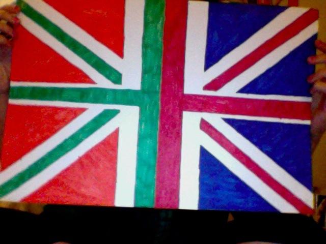 One Direction Flag British And Irish Heart | www.pixshark ...