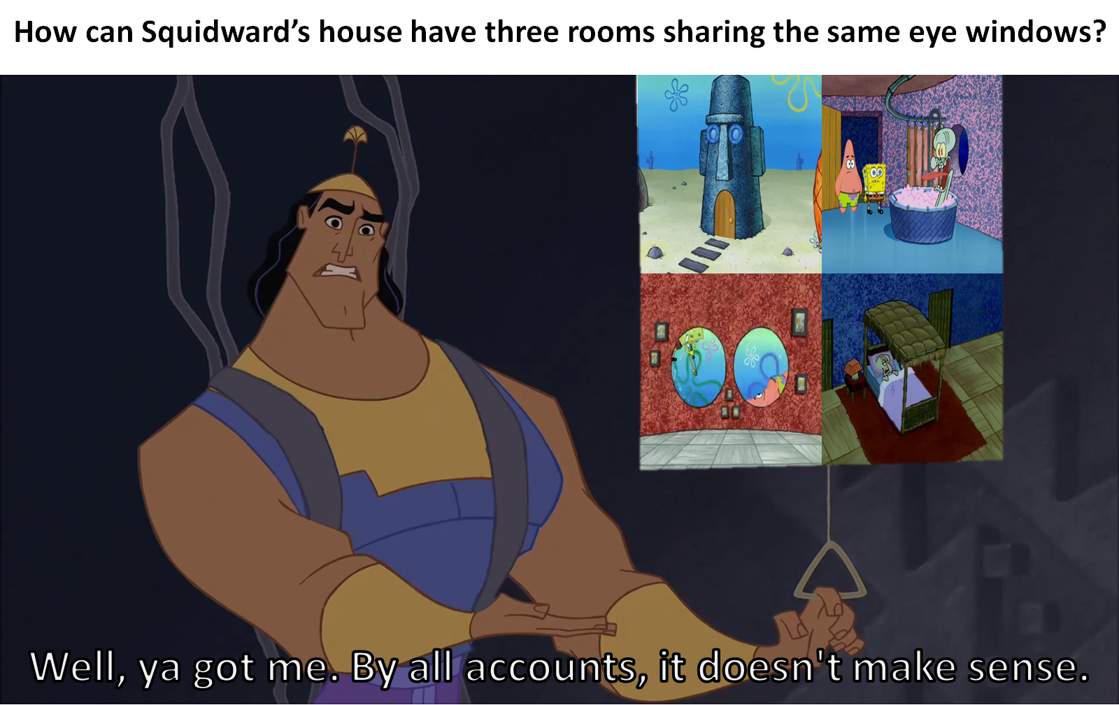 Squidward's House Windows- It doesn't make sense by ...