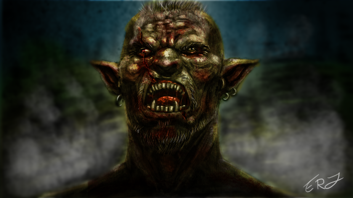 Orc by JesusIsMyHomie