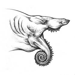 Helicoprion Model B by Lythroversor