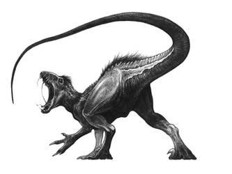 Black Raptor Tail Roblox Indoraptor On Jurassicparkfans Deviantart