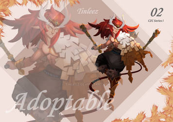 [Auction] Adoptable Tiger Chinese ZodiaC [Closed] by tinleez