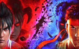 Jin Kazama Vs Ryu - Revision V2 by Yoshi-Lee