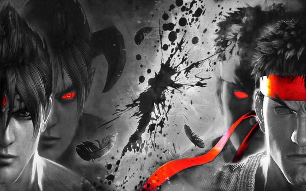 devil jin vs evil ryu v2 by yoshi lee on deviantart
