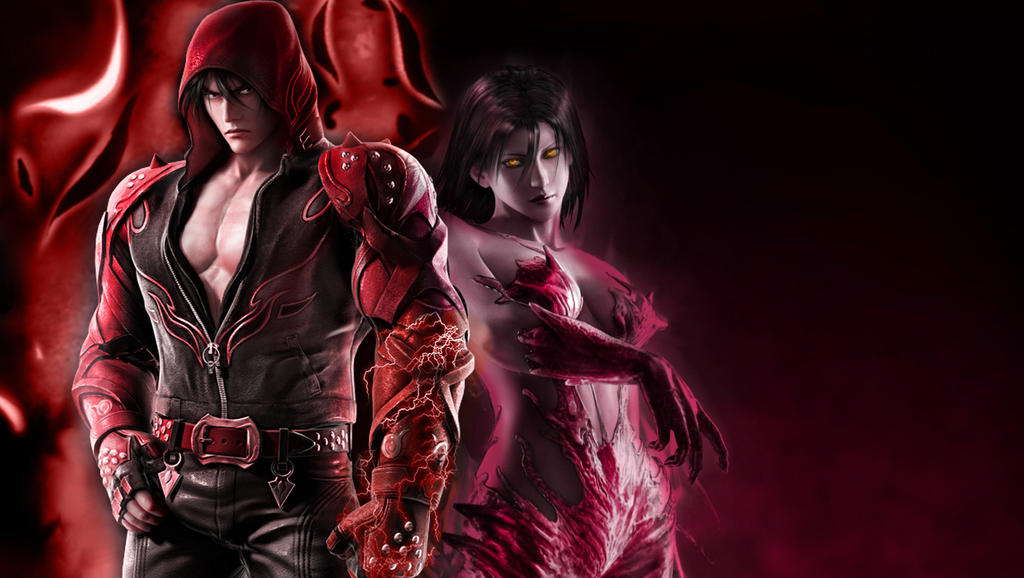 Jin Kazama And Unknown Wallpaper by Yoshi-Lee on DeviantArt