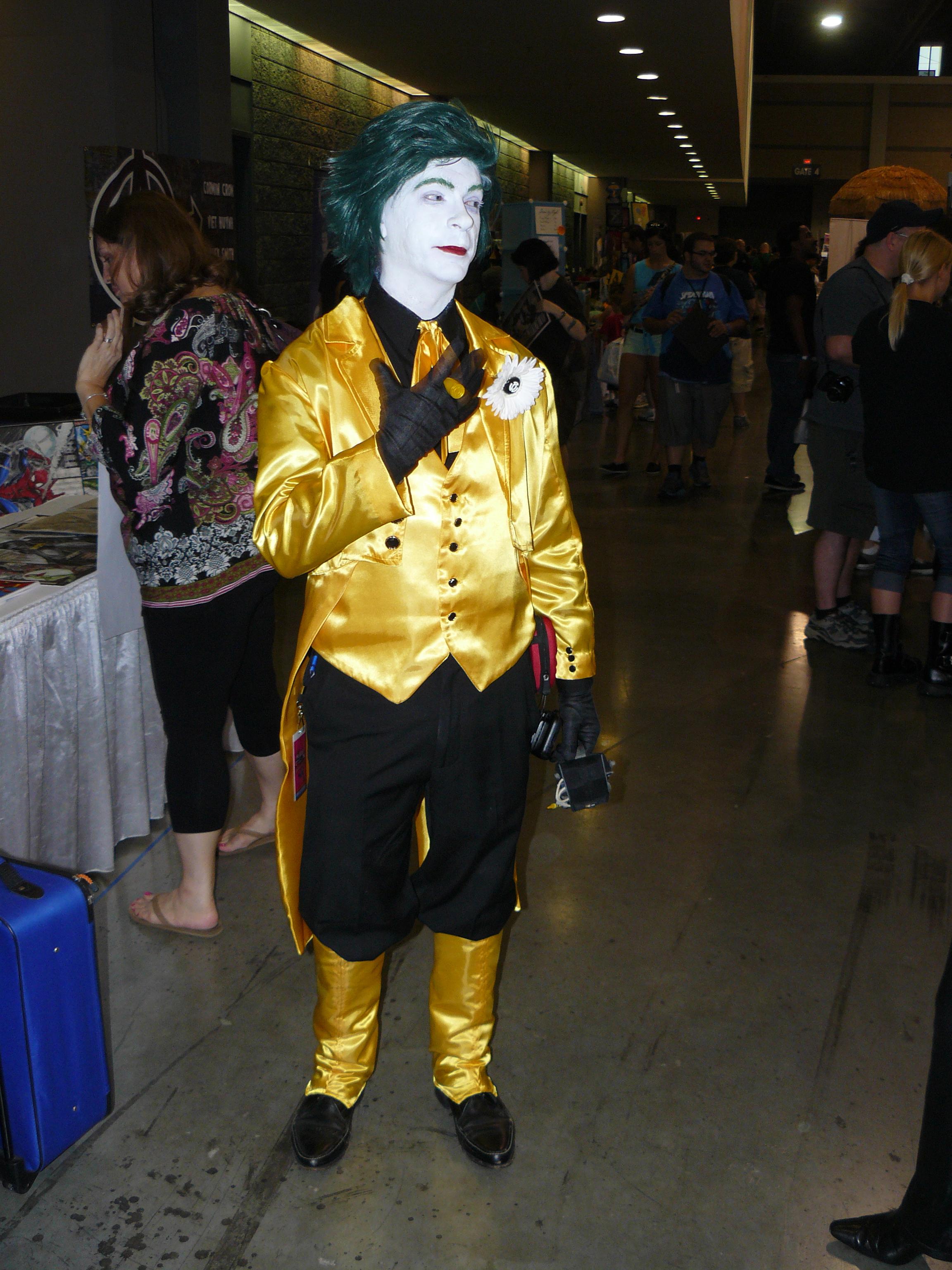 yellow lantern joker -#main