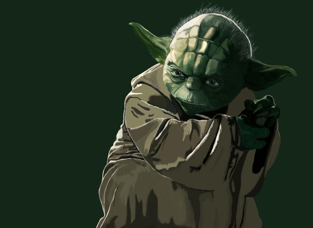 Master Yoda by Wyeth1339