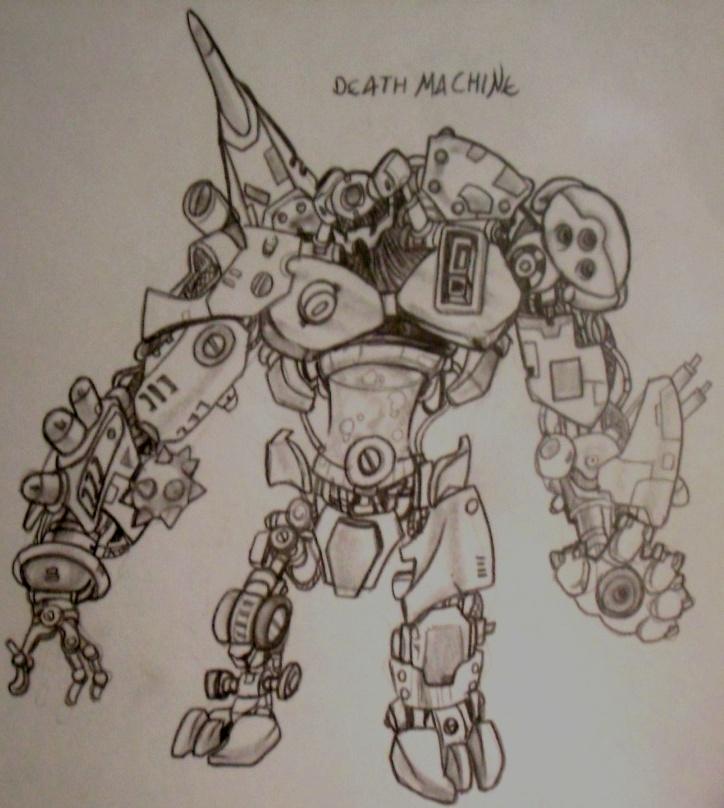 robot by FilhoArtecomic