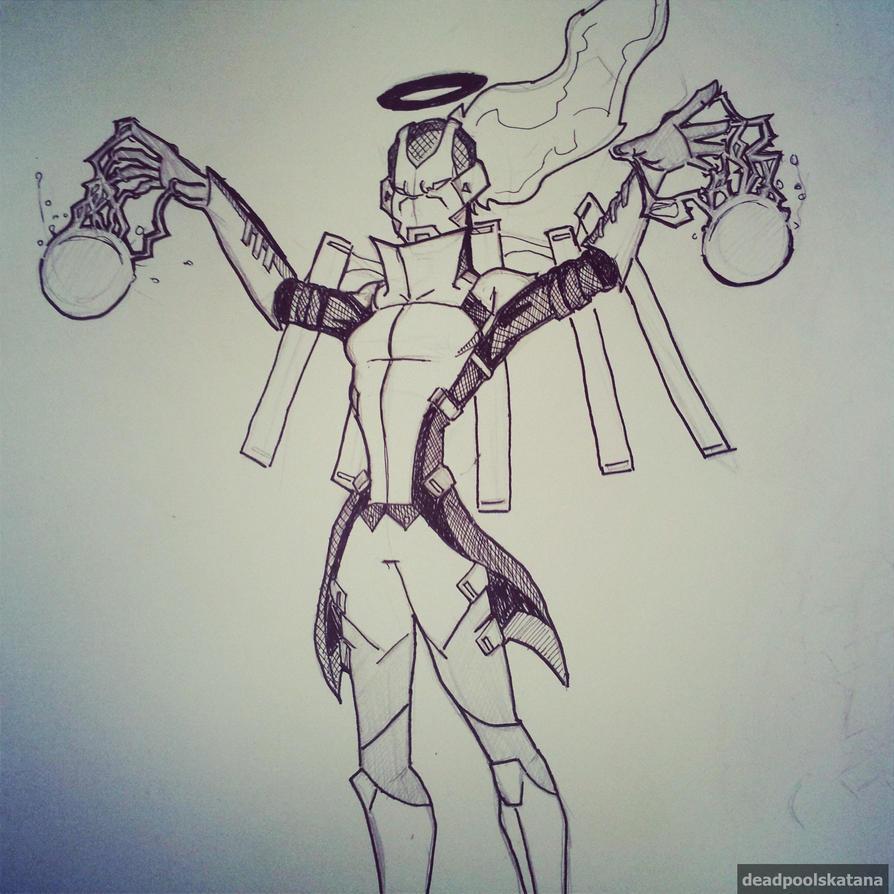Poradex Mk 1 by DeadpoolsKatana
