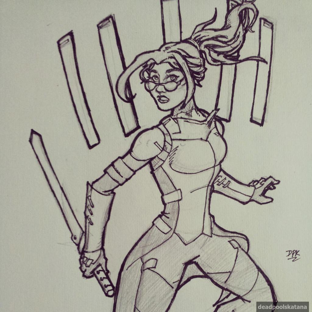 Poradex Mk1 - Unmasked by DeadpoolsKatana