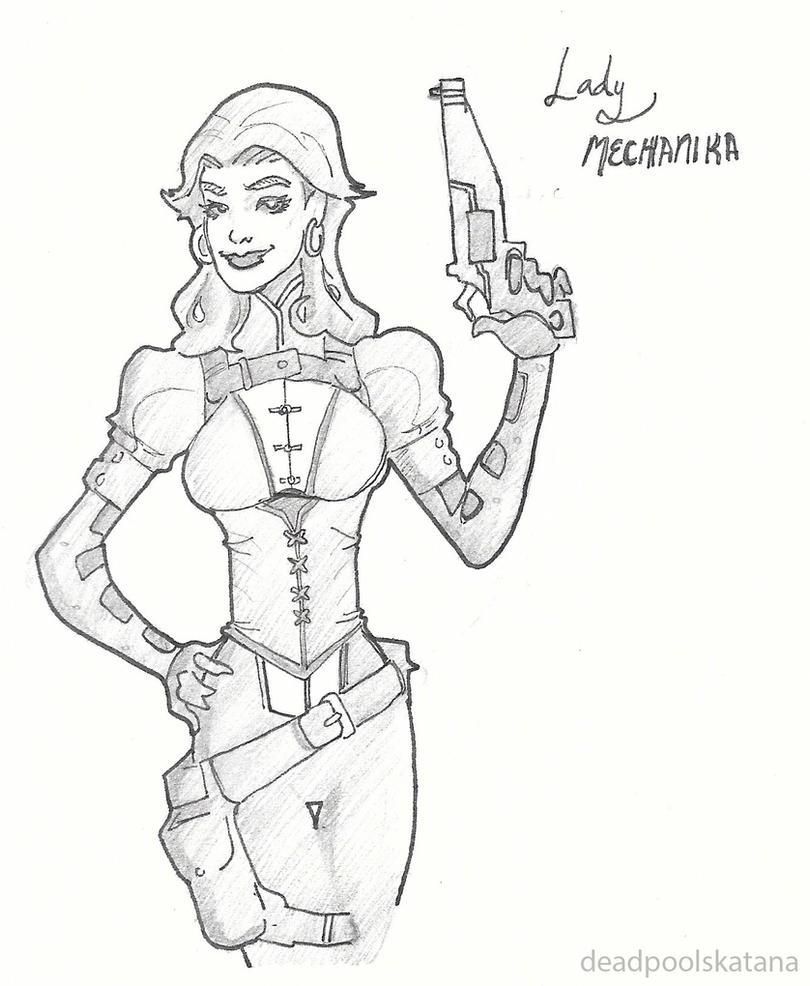 Lady Mechanika by DeadpoolsKatana
