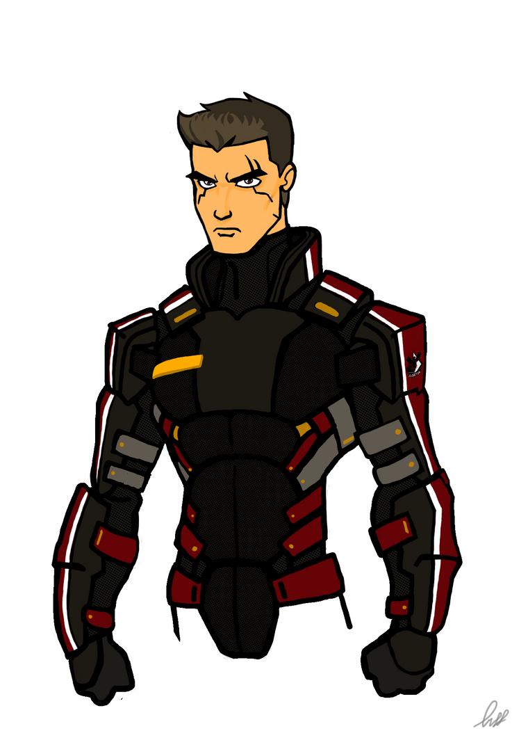 Armored - Bust by DeadpoolsKatana