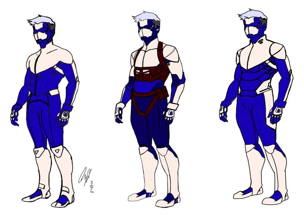 Blade Corps. Custom Human Armor by DeadpoolsKatana