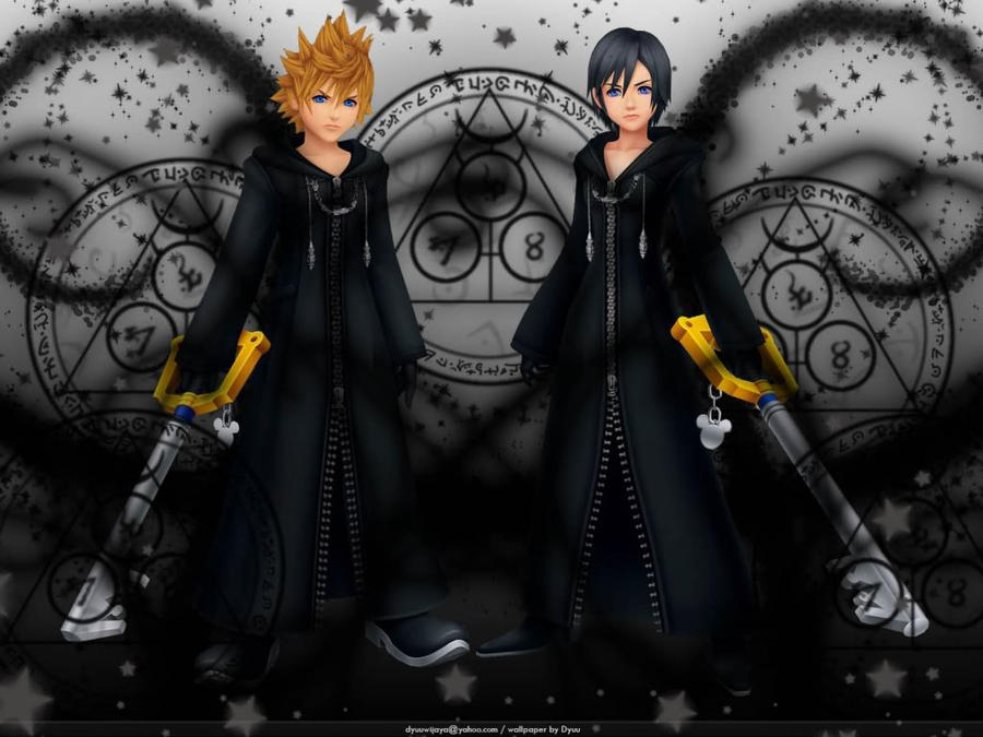 Roxas X Xion By Darkangelprincess25 On DeviantArt
