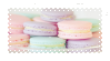 pastel macarons by nuibun