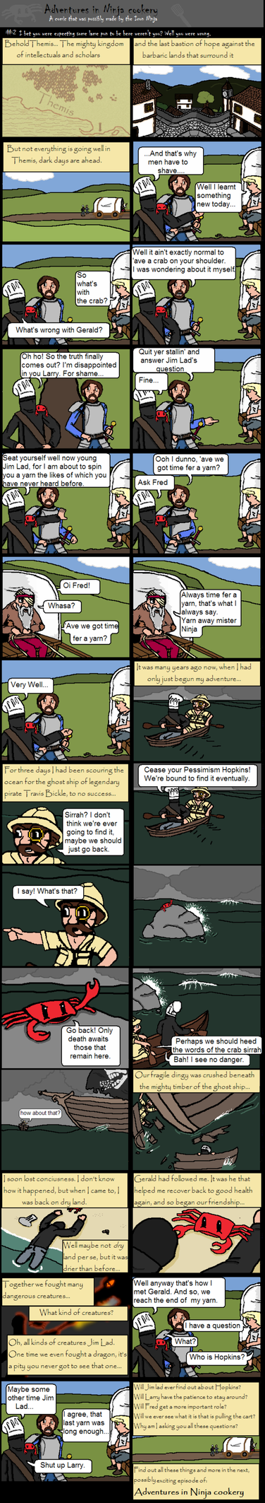 Adventures in Ninja Cookery 2 by The-Iron-Ninja