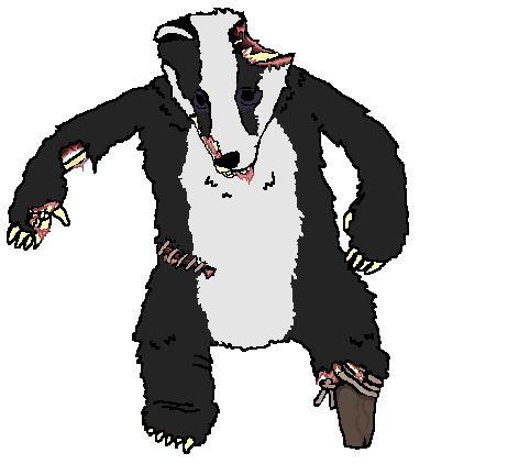 The Big Bad Undead Badger by The-Iron-Ninja