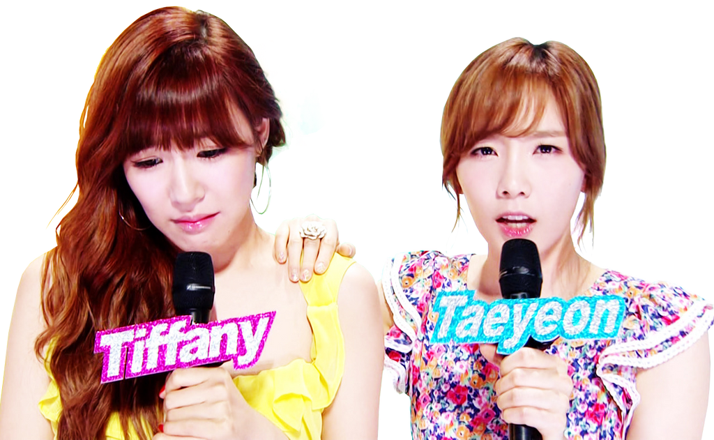 [Render] Taeyeon w Tiffany SNSD by tombiheo on DeviantArt