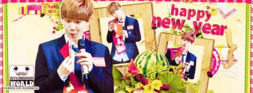 140130 Happy New Year with ByunBaek