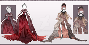 [CLOSED] Outfit Auction Adopt #7-8