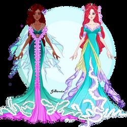 Little Mermaid: redesign