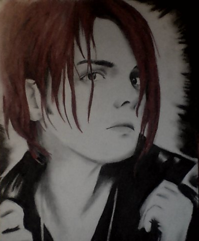 Gerard Way Portrait by JamesChaoticDrowned