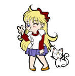 Minako and Artemis