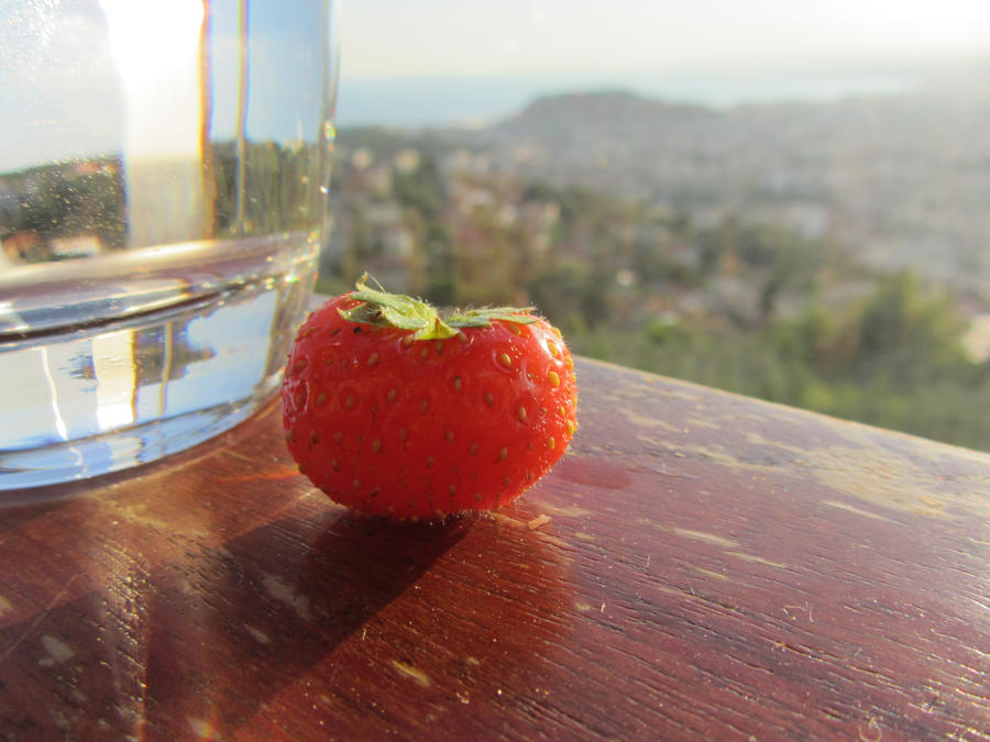 Strawberry by Britneyart08