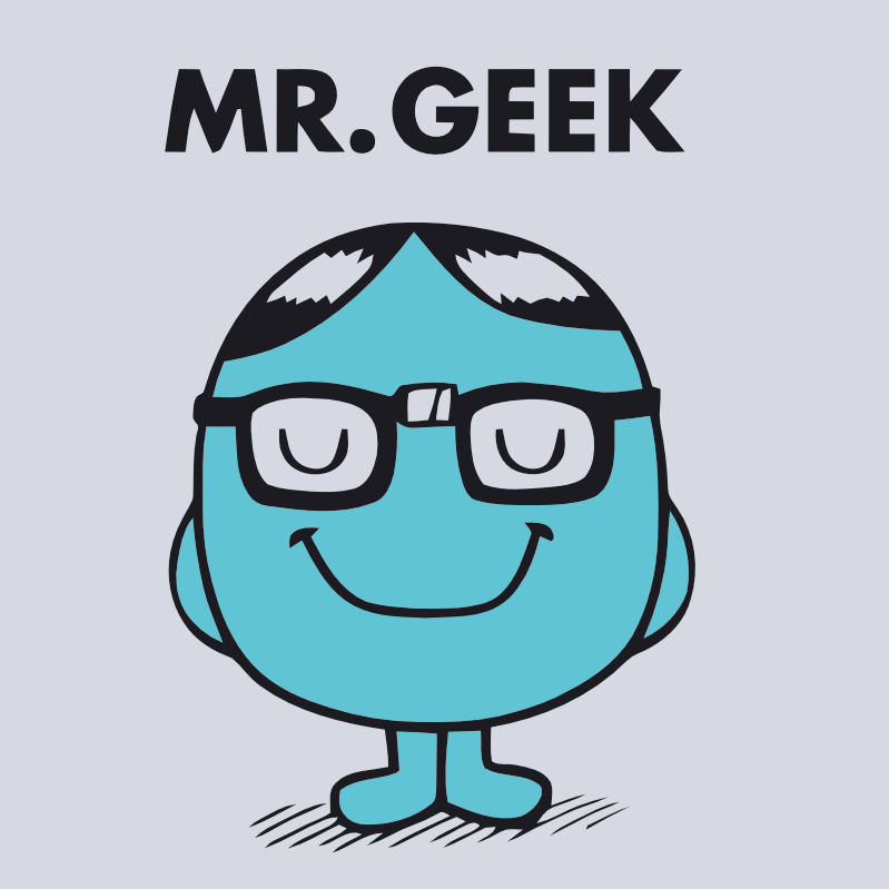 Mr Geek by Purexo