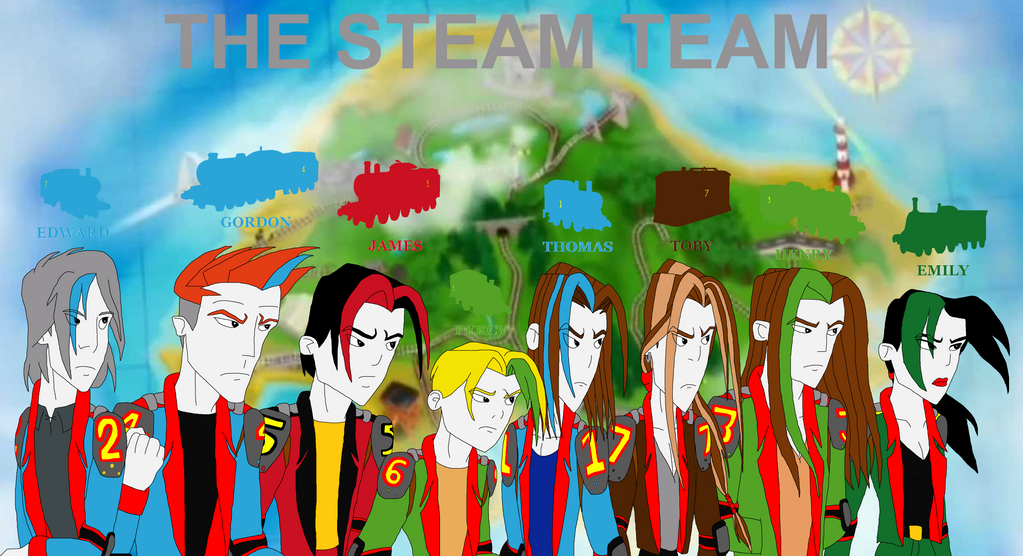 The Steam Team By Sup Fan On Deviantart
