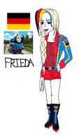 Frieda of Germany humanized