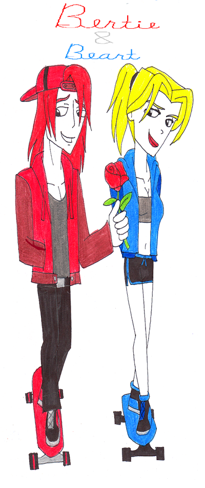 Human Thomas Couples: Bertie and Beart by SUP-FAN