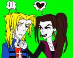 Antonio (Me) and Lisa DarkHeart