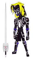 The Samurai Spider symbiote