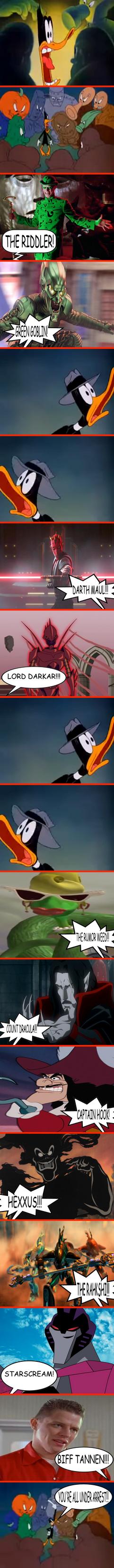 Duck Twacy vs 11 random favourite villains 2