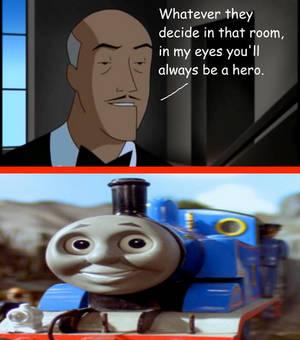 Alfred encourages Thomas