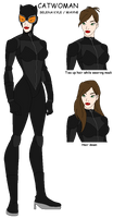 My own style of Catwoman for Young Justice