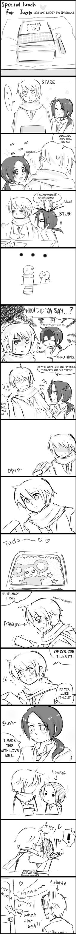 Rochu:Special lunch for Ivan by IDASWANZ