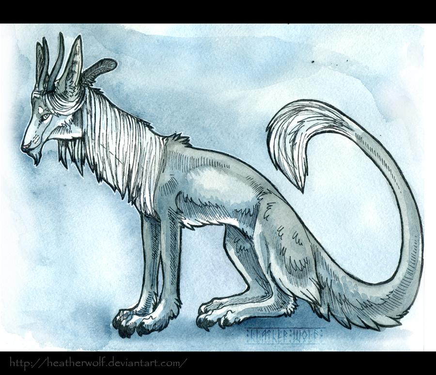 My dragon by HeatherWolf